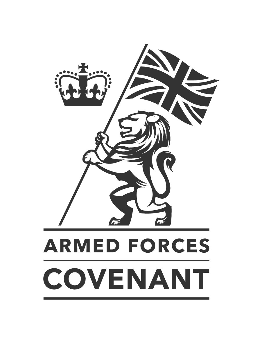 Armed Forces Covenant - Proudly supporting those who serve